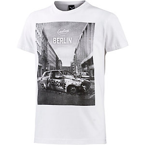 iriedaily Greetings T-Shirt Herren weiß/grau