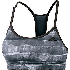 adidas Sport-BH Damen schwarz/weiß