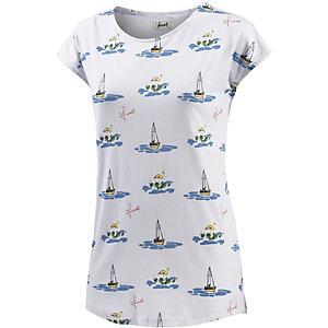 Forvert Telsa Printshirt Damen weiß