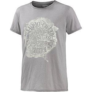 Khujo Printshirt Herren grau