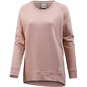 iriedaily Sweatshirt Damen rosa meliert