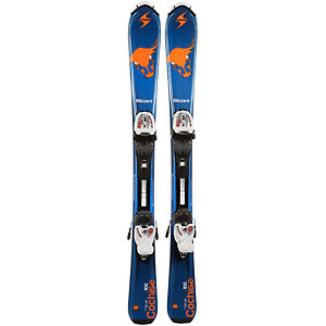 Blizzard Set Cochise IQ jr. + IQ 4.5 All-Mountain Ski blau/orange