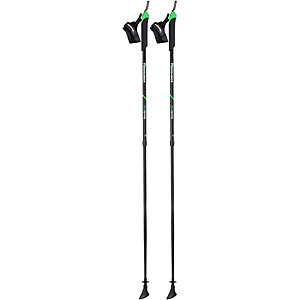 KOMPERDELL Spirit Vario Nordic Walking-Stock schwarz/grün