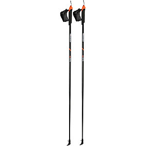 KOMPERDELL Spirit Nordic Walking-Stock schwarz/orange