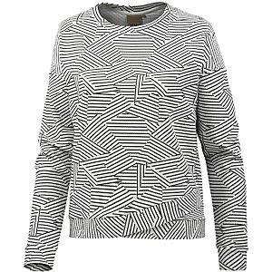 Ichi Sweatshirt Damen weiß/schwarz