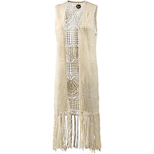 all about eve Strickweste Damen offwhite
