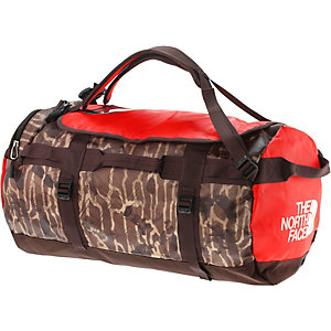 The North Face Base Camp Duffel Reisetasche braun/rot