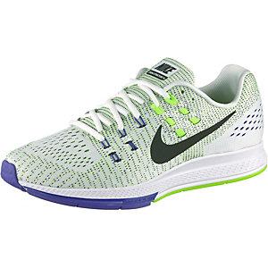 Nike Air Zoom Structure 19 Laufschuhe Herren weiß/schwarz/grün