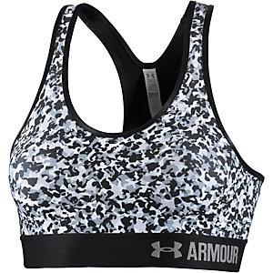 Under Armour Sport-BH Damen schwarz/weiß