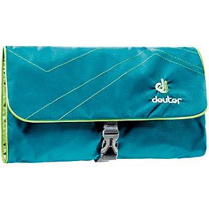 Deuter Wash Bag II Kulturbeutel petrol/grün