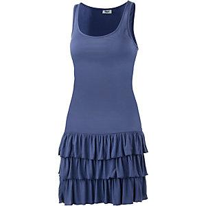 BEACH TIME Trägerkleid Damen blau