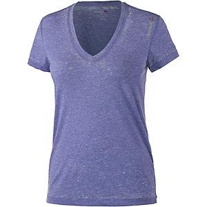 Reebok V-Shirt Damen dunkellila