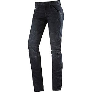G-Star 5620 Custom Mid Skinny Skinny Fit Jeans Damen dark denim