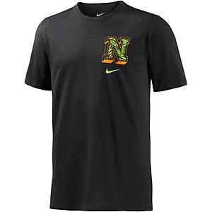 Nike Palm T-Shirt Herren schwarz