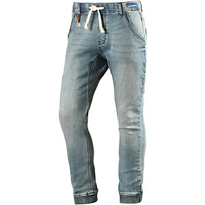 Khujo Barrel Sweat Jeans Herren used denim