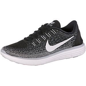 Nike Free RN Distance Laufschuhe Damen schwarz
