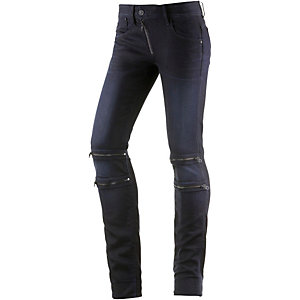 G-Star Lynn Custom Mid Skinny Skinny Fit Jeans Damen black denim