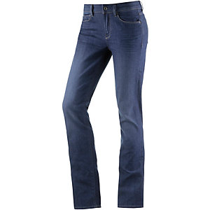 G-Star 3301 Contour High Straight Straight Fit Jeans Damen medium blue denim