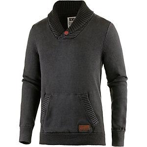 Khujo V-Pullover Herren grau