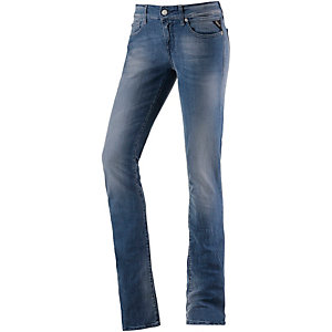 REPLAY Vicki Straight Fit Jeans Damen used blue denim