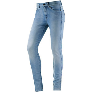 G-Star 3301 Ultra High Super Skinny Skinny Fit Jeans Damen blue grey denim
