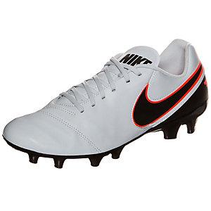 Nike Tiempo Genio II Fußballschuhe Herren grau / schwarz