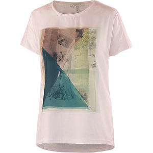 Maison Scotch Printshirt Damen rosa