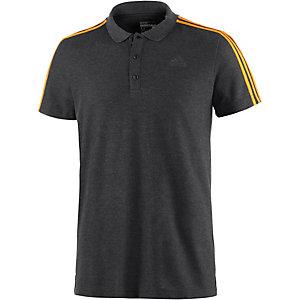 adidas Essential 3S Poloshirt Herren dunkelgraumelange