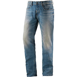 G-Star 3301 Loose Anti Fit Jeans Herren light used denim