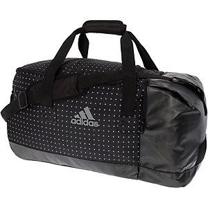 adidas Sporttasche Damen schwarz/weiß