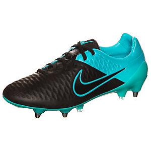 Nike Magista Opus Leather Fußballschuhe Herren schwarz / blau