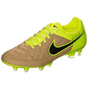 Nike Tiempo Legacy Fußballschuhe Herren braun / neongelb