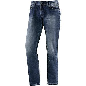 M.O.D Oskar Straight Fit Jeans Herren washed denim
