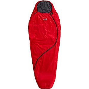 Jack Wolfskin Smoozip +3 Kunstfaserschlafsack Damen rot