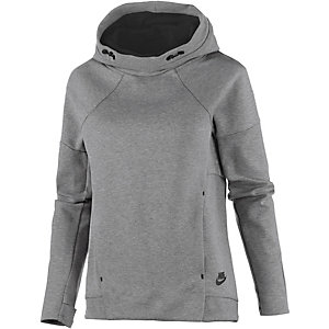 Nike Tech Fleece Hoodie Damen grau
