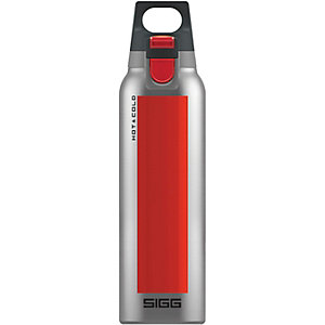 SIGG Hot & Cold One Trinkflasche rot/silberfarben