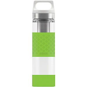 SIGG Hot & Cold Glass Trinkflasche grün