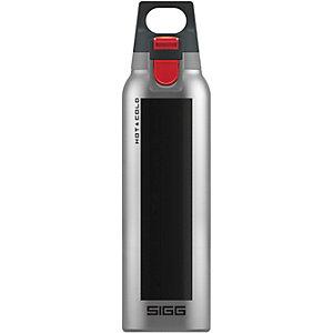 SIGG Hot & Cold One Trinkflasche schwarz/silberfarben