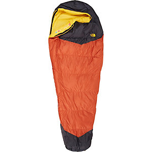 The North Face Gold Kazoo Daunenschlafsack orange/grau