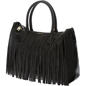 REPLAY Handtasche Damen schwarz/gold