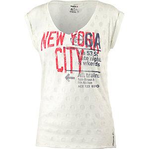 Reebok Printshirt Damen offwhite