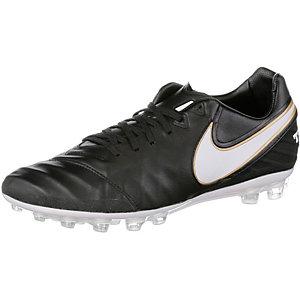 Nike TIEMPO LEGACY II AG-R Fußballschuhe Herren schwarz/weiß