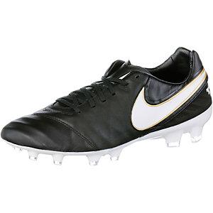 Nike TIEMPO LEGACY II FG Fußballschuhe Herren schwarz/weiß