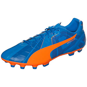 PUMA evoSPEED 4 Head To Head Fußballschuhe Herren blau / orange