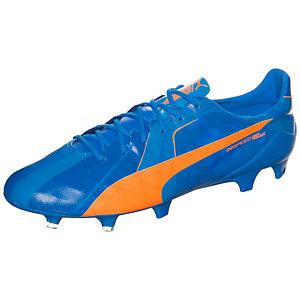 PUMA evoSPEED SL Head To Head Fußballschuhe Herren blau / orange