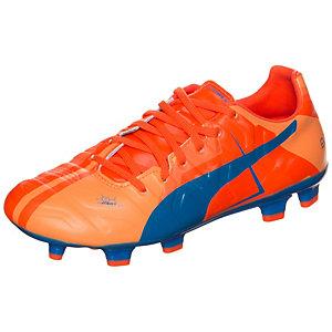 PUMA evoPOWER 3 Head To Head Fußballschuhe Herren orange / blau