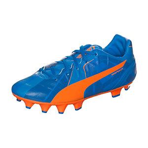 PUMA evoSPEED 4 Head To Head Fußballschuhe Kinder blau / orange
