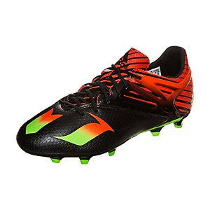 adidas Messi 15.1 Fußballschuhe Kinder schwarz / grün / rot