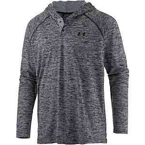 Under Armour HeatGear Popover Funktionsshirt Herren schwarz