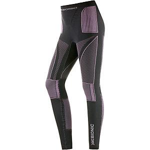X-Bionic Accumulator Funktionsunterhose Damen grau/pink